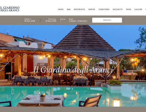 Nuovo sito web online